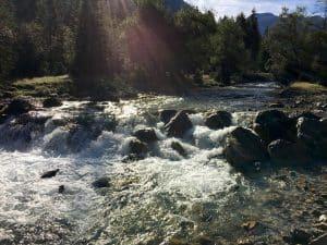 Hervorragendes Wasser aus den Tiefen der Berge - Auf den Spuren der Enns am Ennsradweg von Flachauwinkl nach Radstadt blogHuette.at image 7