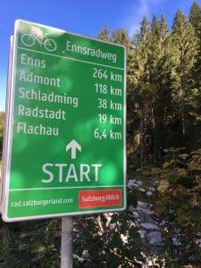 Hervorragendes Wasser aus den Tiefen der Berge - Auf den Spuren der Enns am Ennsradweg von Flachauwinkl nach Radstadt blogHuette.at image 10