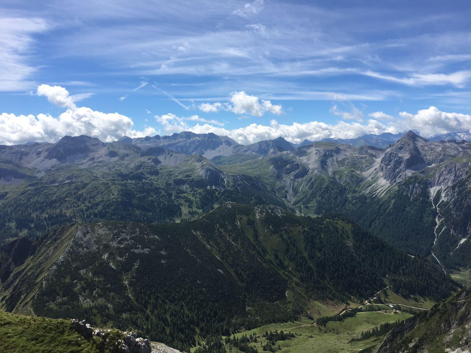 2.000 Höhenmeter und mehr - nichts für Sandalen blogHuette.at image 1