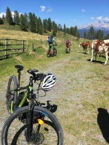 Mountainbike Shooting auf dem Berg