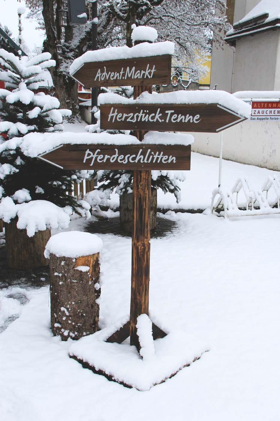 christmas in the Salzburger Sportwelt