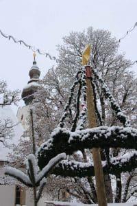 Adventkranz am Christkindlmarkt