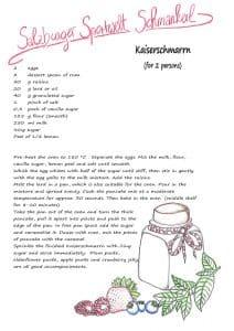 Kaiserschmarrn recipe