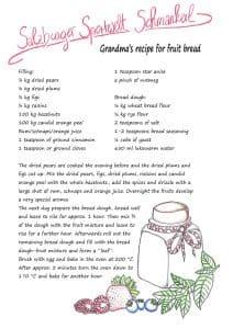 recipe for fruit bread