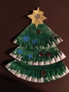selbstgemachter Weihnachtsbaum