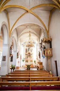 Die Pfarrkirche in Wagrain und das Stille Nacht Lied