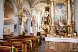 Wagrainer Kirche als Stiller Nacht Ort