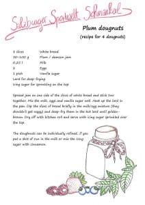 recipe plum dougnuts