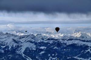 Filzmoos und die Ballonfahrt