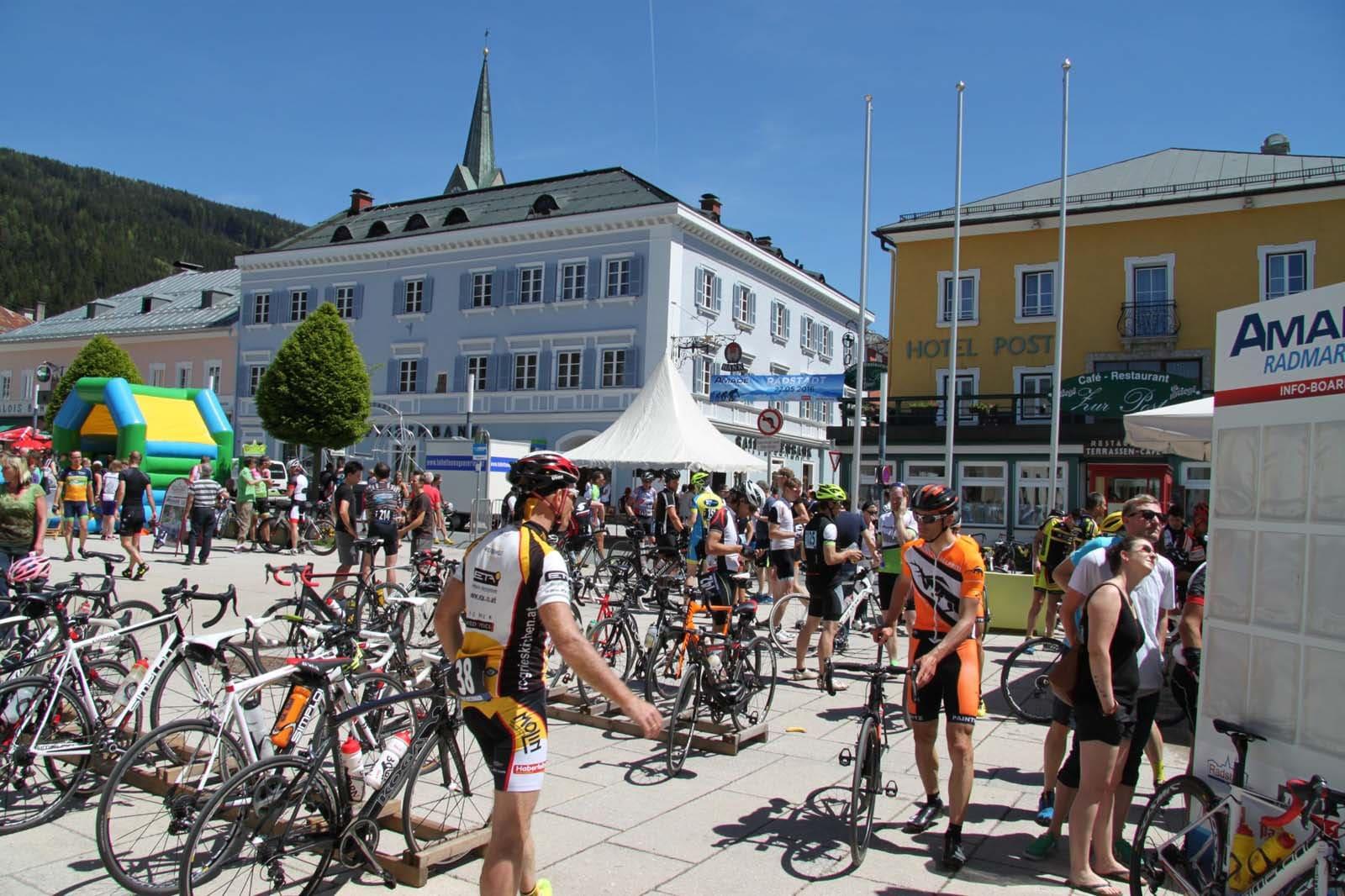 25 years Amadé Cycling Marathon in the Salzburg Sport World