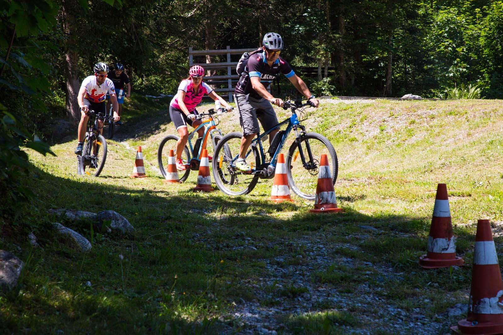 e-Mountainbiken in der Salzburger Sportwelt