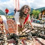 ein verrücktes Laufspektakel in Flachau