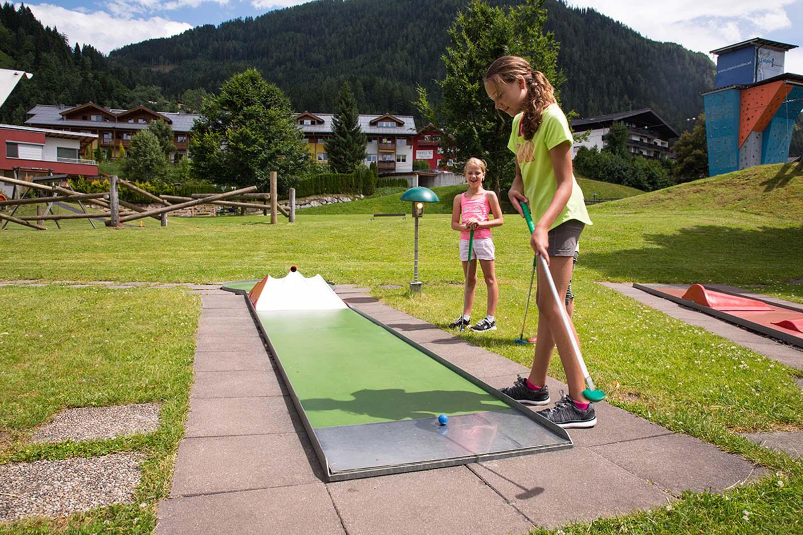 Minigolf in Flachau