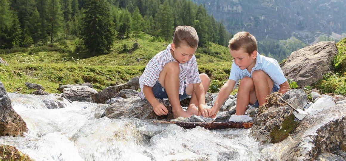 Kinderleicht wandern in Flachau