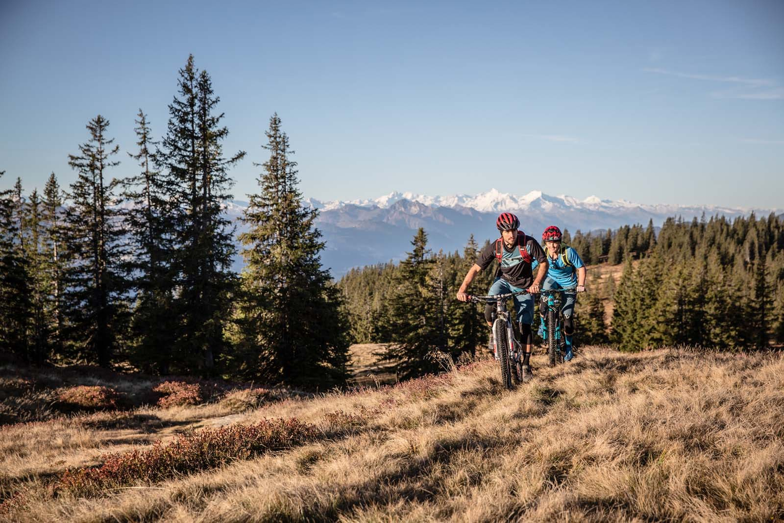 Mountainbike tour in the Salzburger Sportwelt and Obertauern