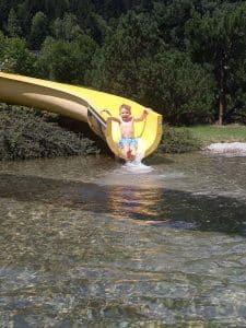 Spaß für Groß und Klein am Badesee in Eben