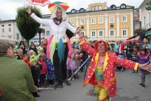 Kindertag in Radstadt im Salzburger Land