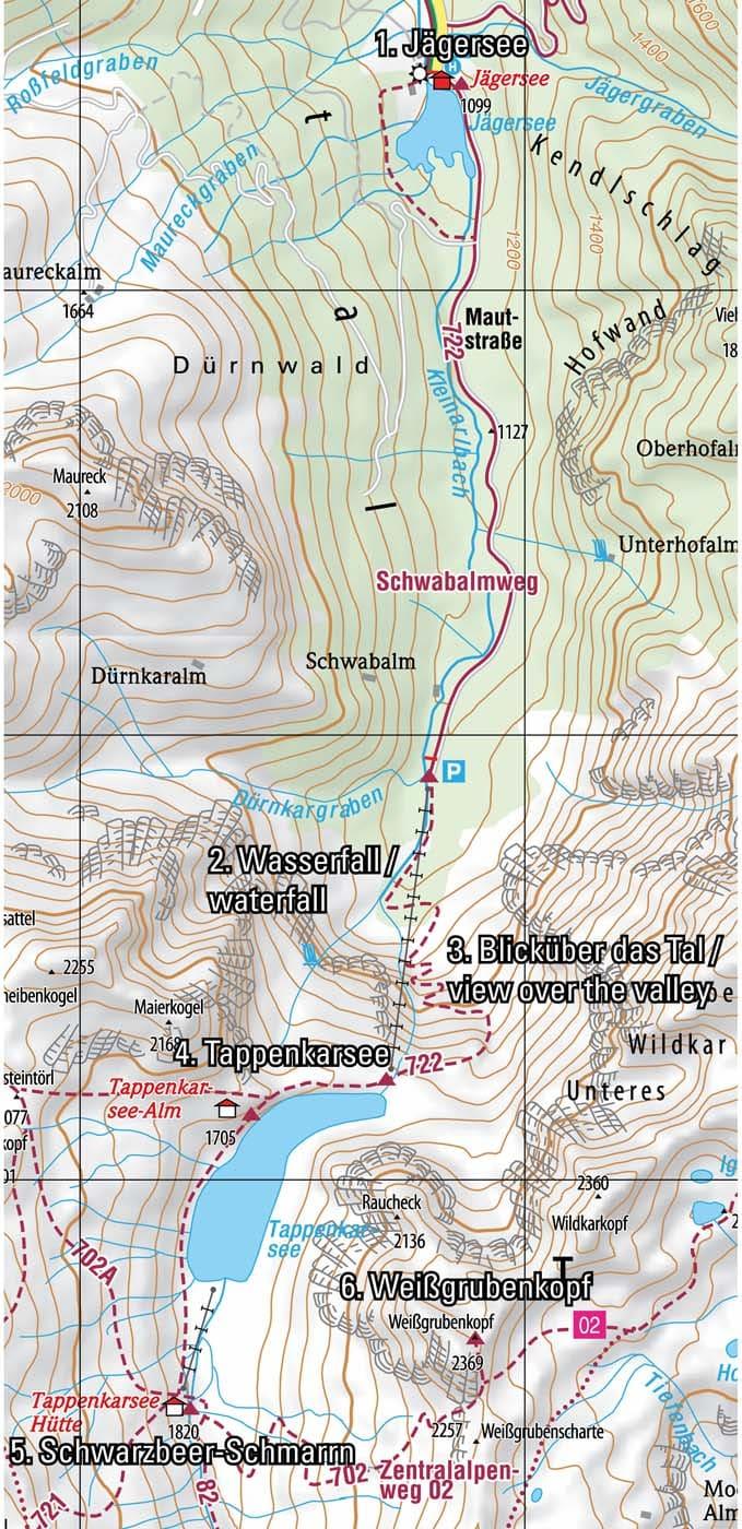 Wandern in Wagrain-Kleinarl
