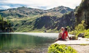 Die Bergseen im Salzburger Land