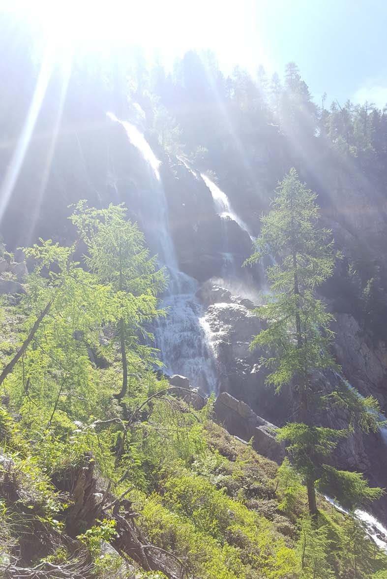 Wasserfall Richtung Tappenkarsee