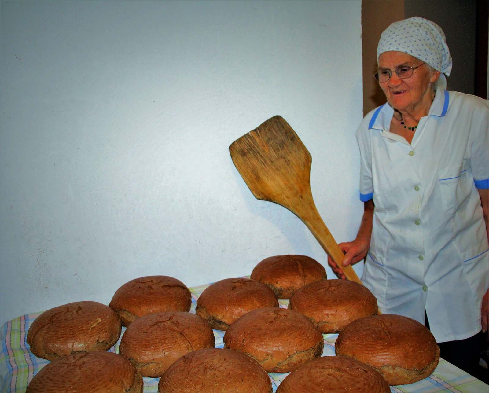 selfmade bread from Austria