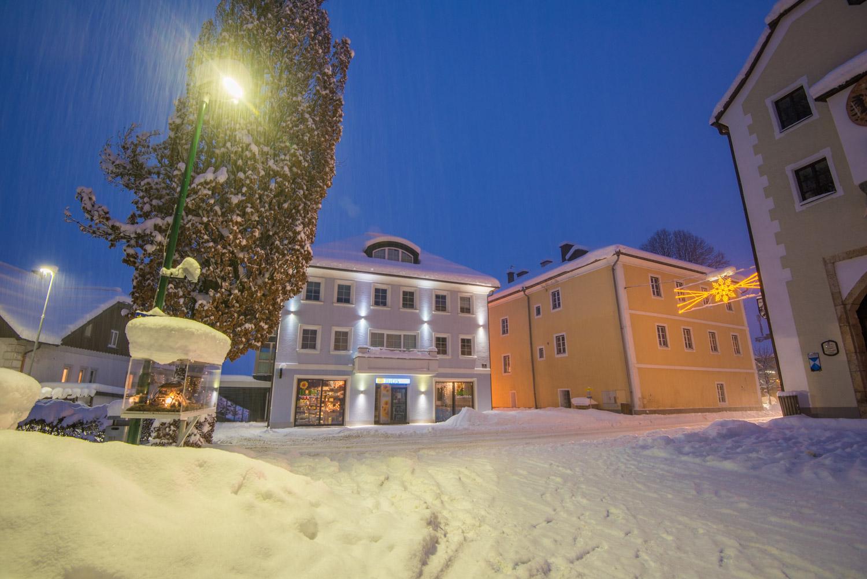 Abendspaziergang in Radstadt der Krippenweg
