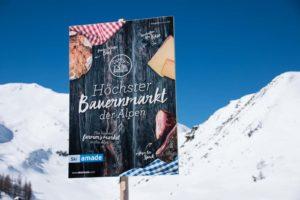 Vom Bauern direkt zum Kunden beim Skifahren