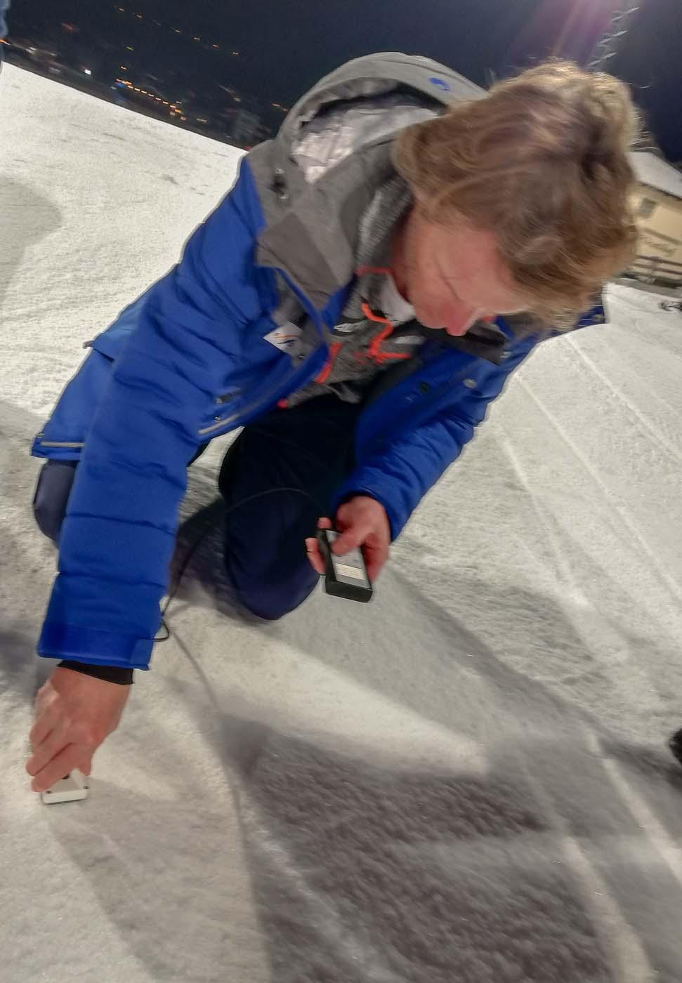 Snow control in Flachau