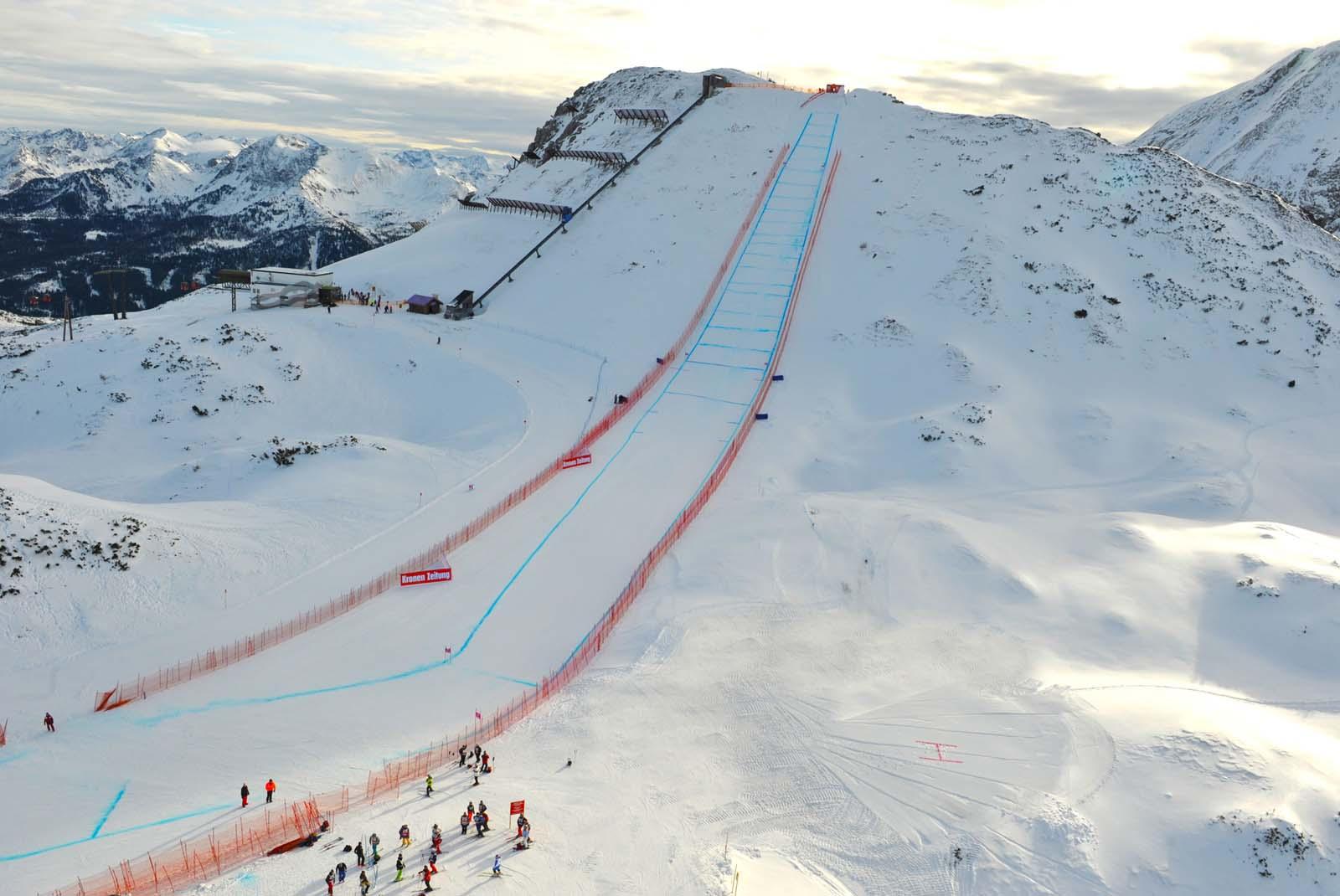 Skiweltcup der Damen in Zauchensee