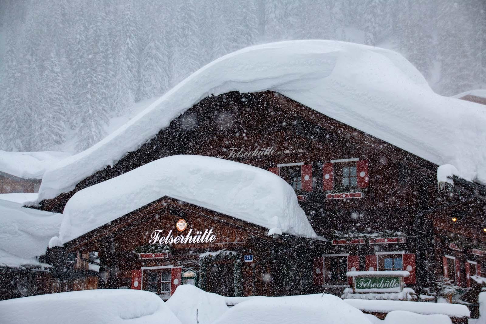 Zauchensee im Winter