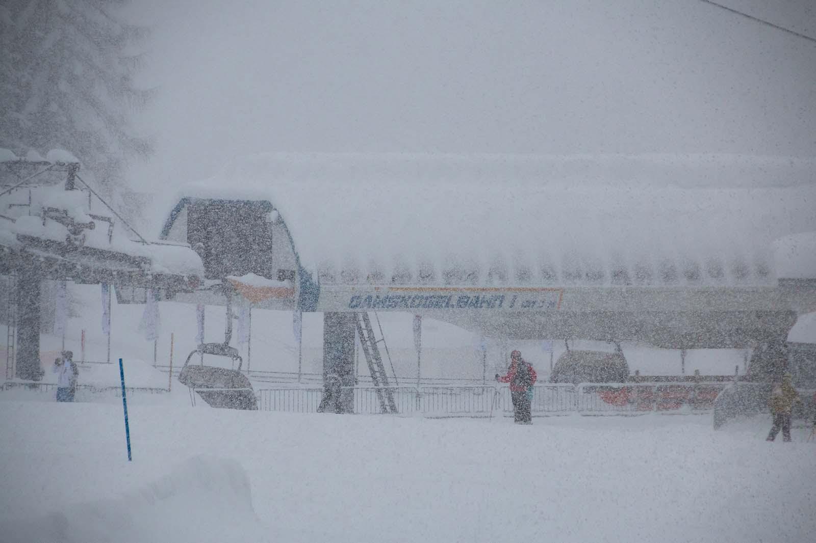 Zauchensee in Winter