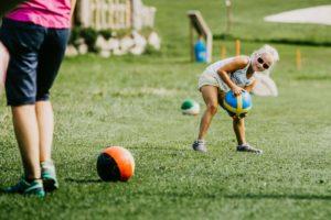 Spiel und Spaß beim Soccer Golf in Wagrain-Kleinarl