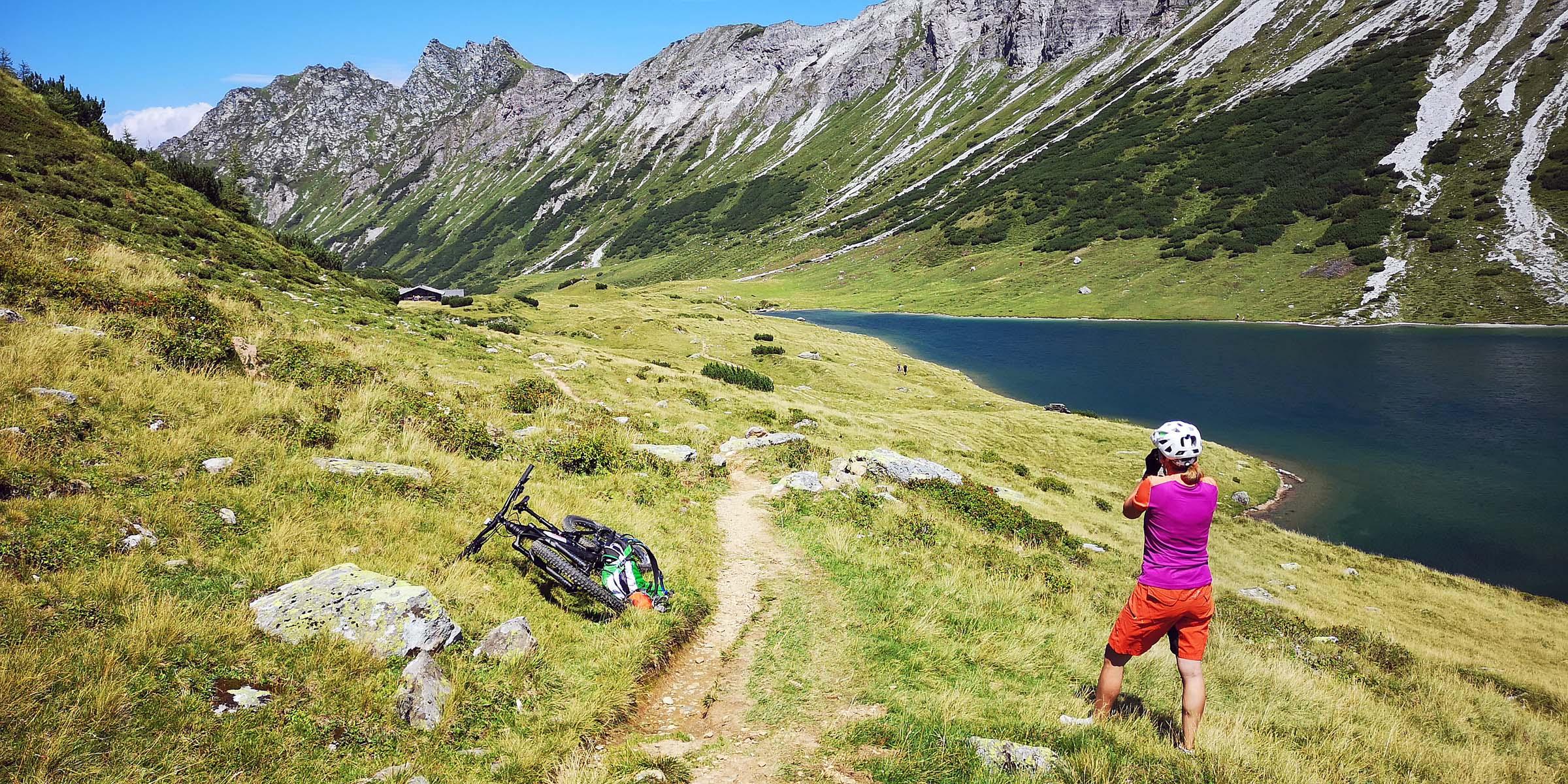 Mountainbike Wege Salzburger Sportwelt