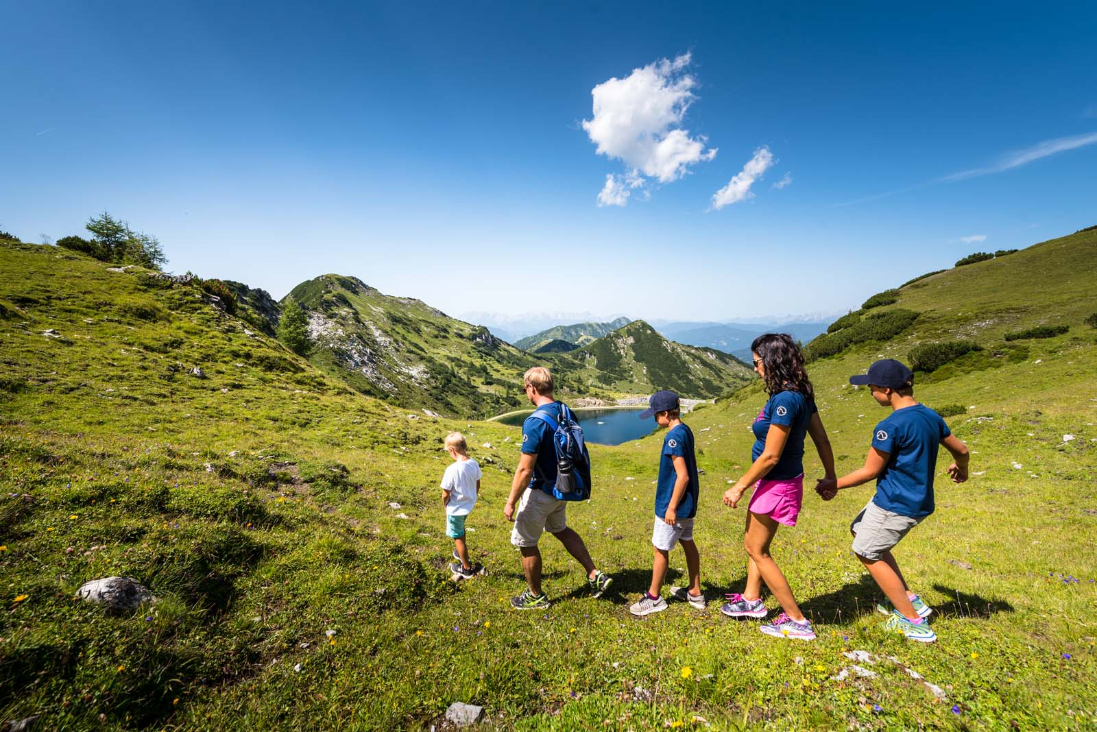 hiking in Summer in Altenmarkt-Zauchensee