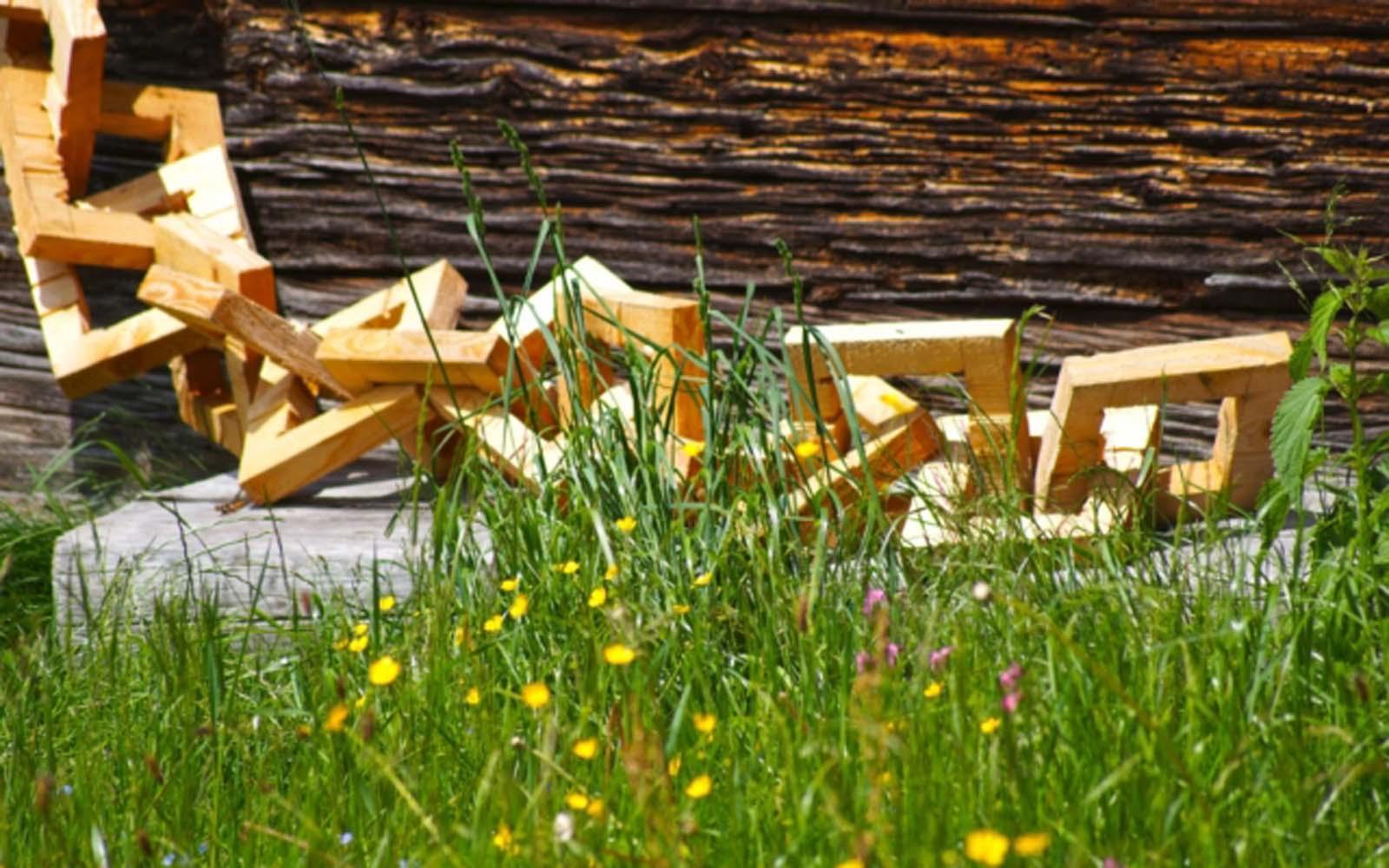 wood art from Austria
