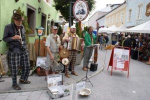 Traditioneller Kunsthandwerksmarkt in Radstadt