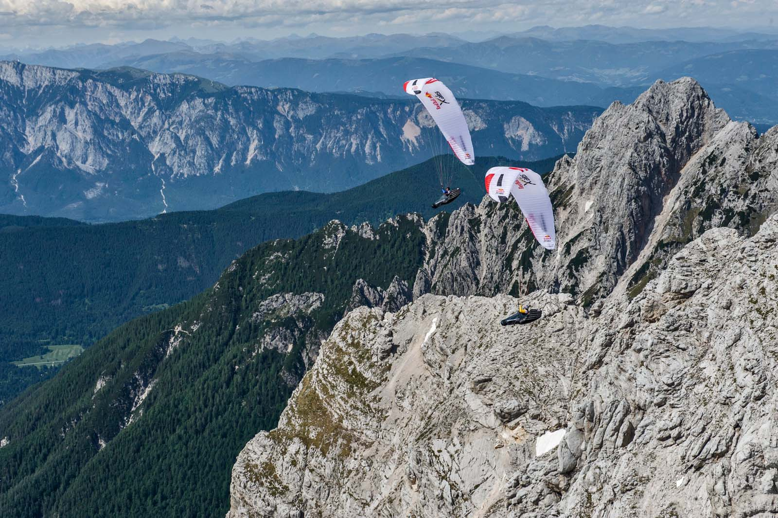 Sports and Action from Salzburg to Monaco Red Bull X-Alps