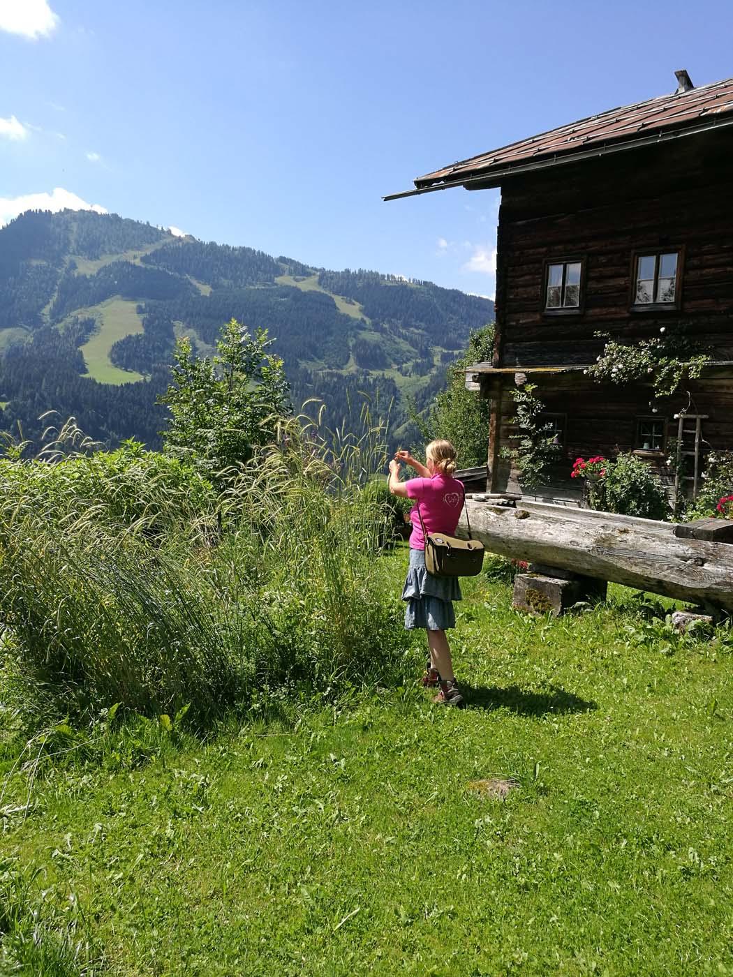 herb walk in St. Johann in Salzburg