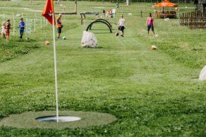 Fußball und Golf in Kombination