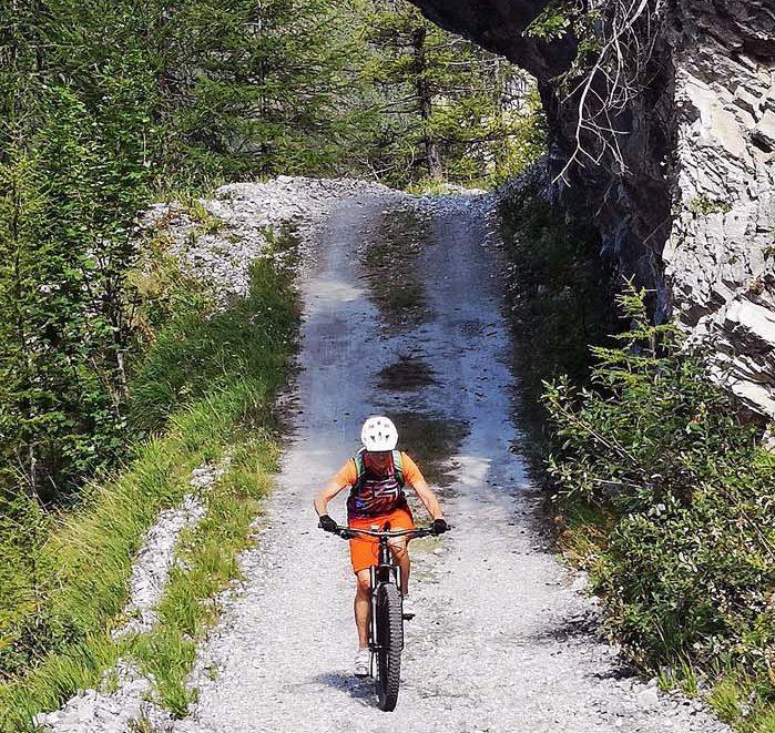 Teilstrecke Stoneman Taurista Vögeialm Oberhütte