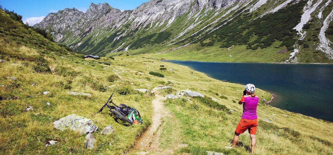 austrian alps mtb tour Salzburg
