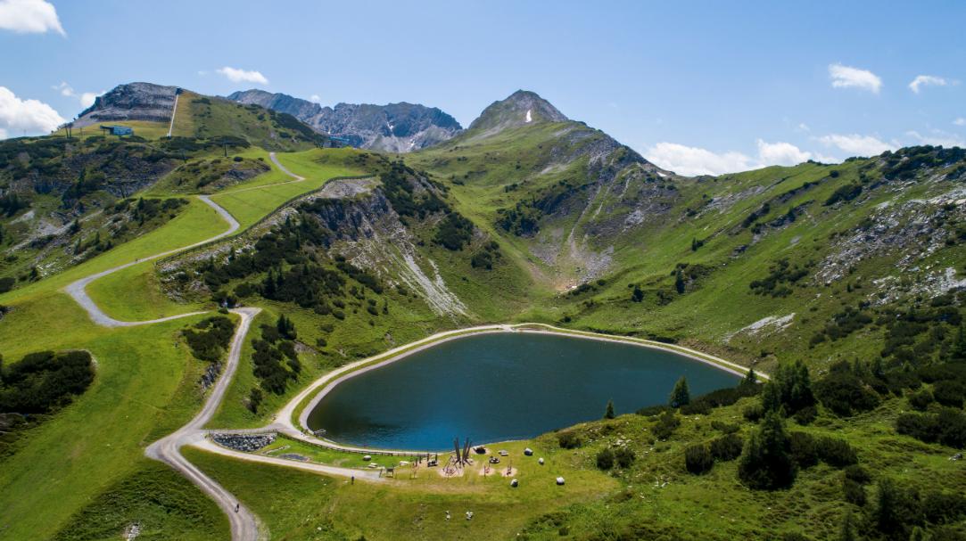 Speicherteich in Zauchensee