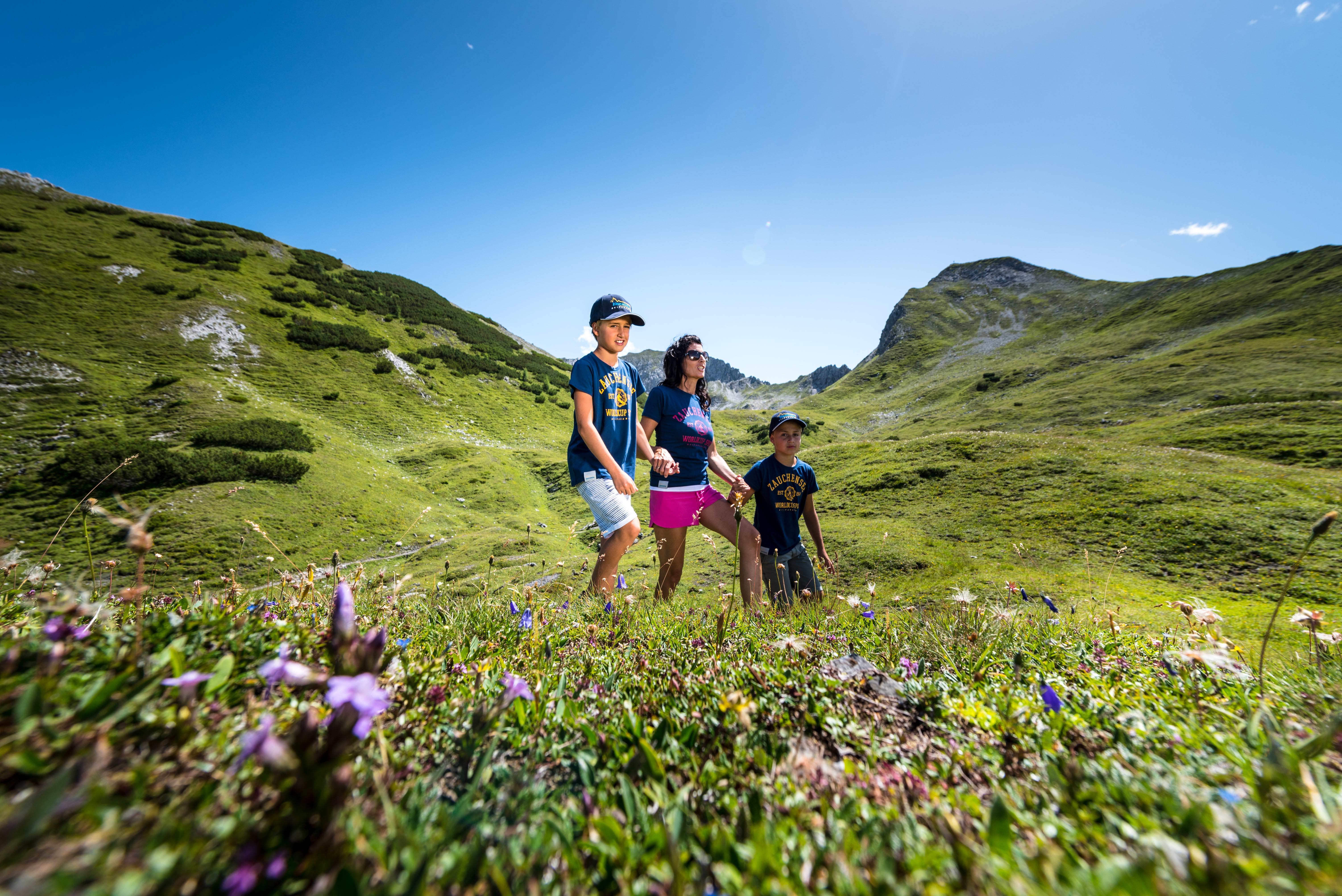 hiking with kids in Salzburg