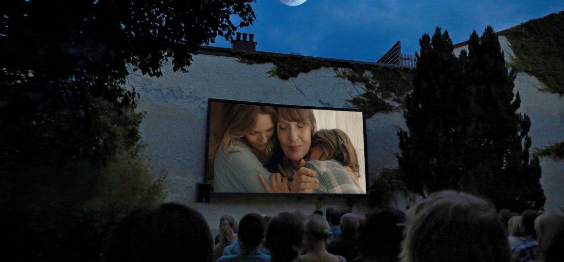 Cinema up on the Alpine Pasture