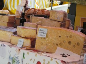 selbstgemachter Käse aus dem Pongau