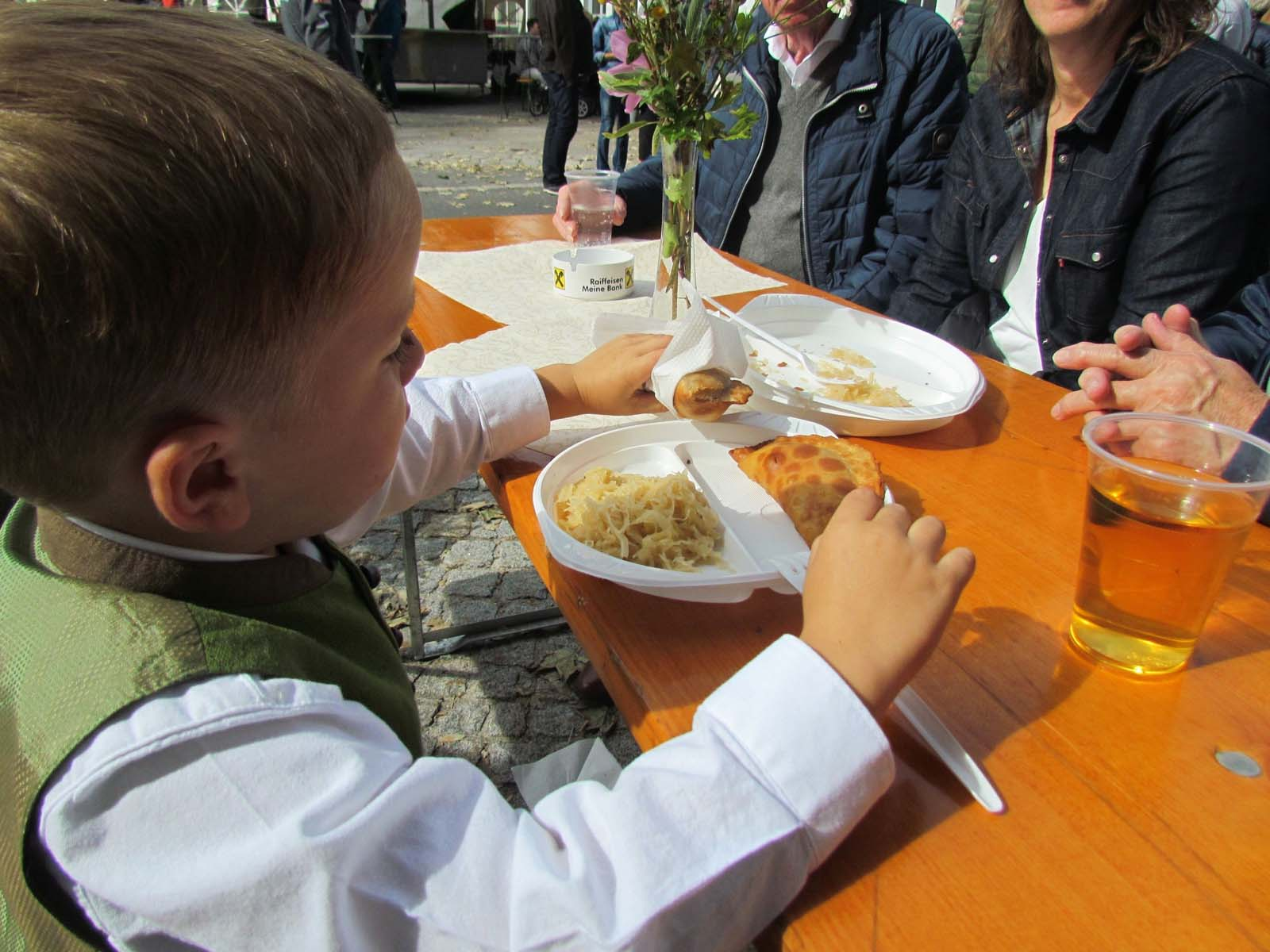 traditional food at the Eben Fair