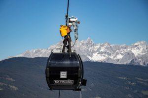 Liftevakuierung im Skigebiet