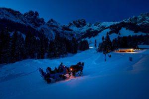 Advent im Schnee, Weihnachtswanderung in Salzburg