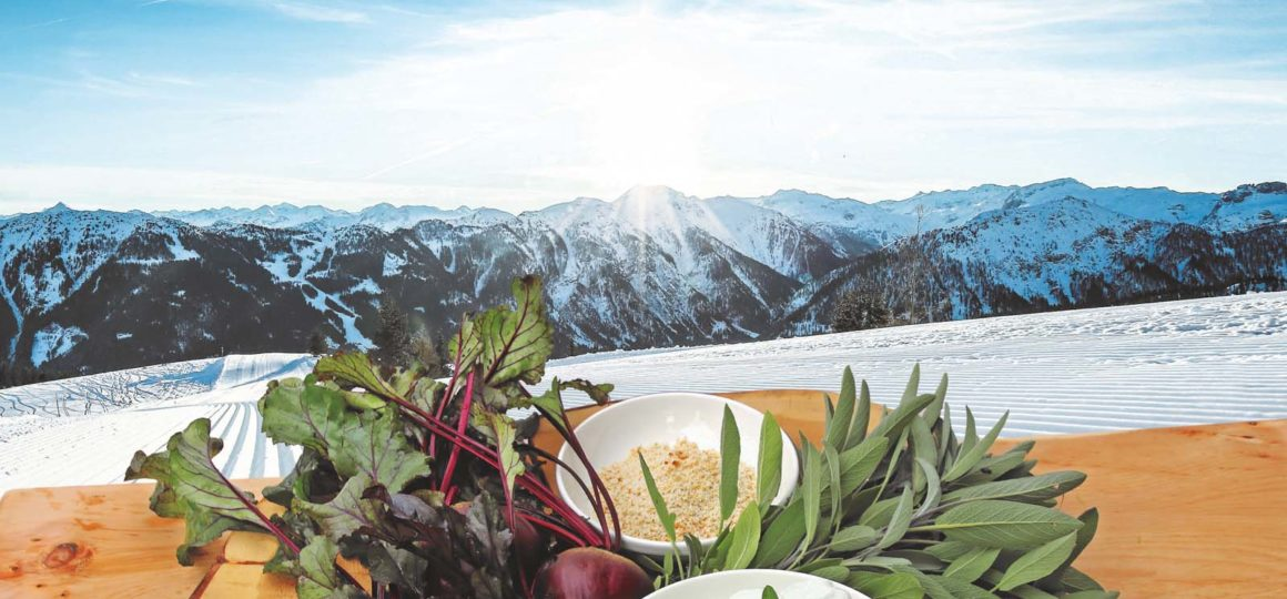 Culinary delights on the mountain, skiing and enjoyment