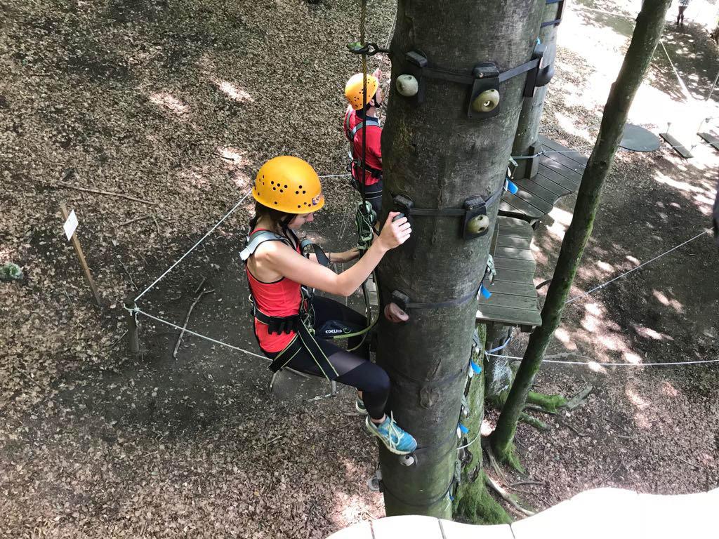 Kletter als neue Challenge